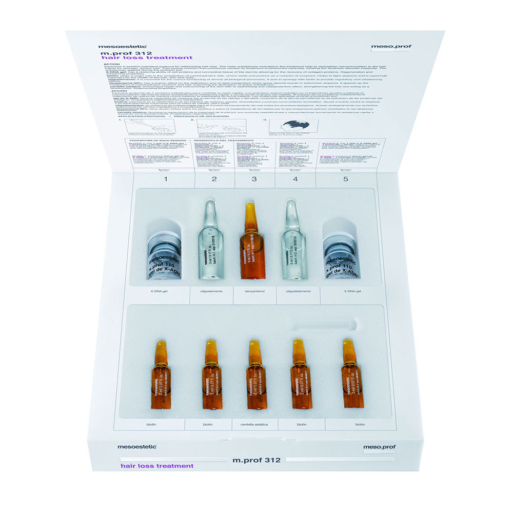 Препараты мезотерапии m.prof 312 для лечения выпадения волос