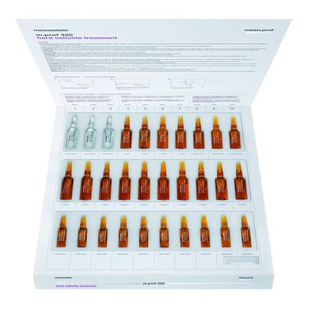 Набор препаратов мезотерапии для лечения твердого целлюлита m.prof 320