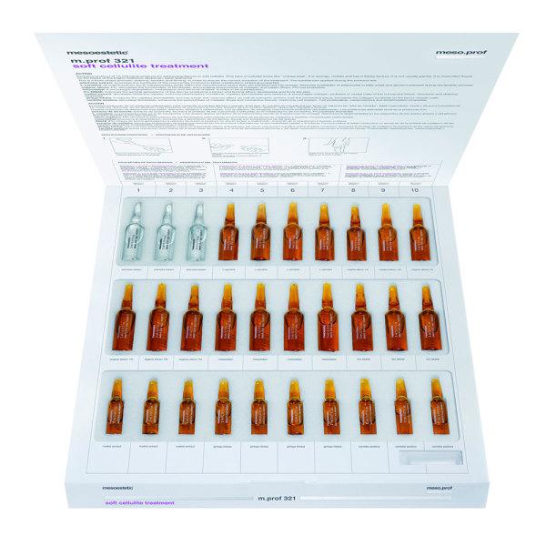 Набор препаратов мезотерапии для лечения мягкого целлюлита m.prof 321