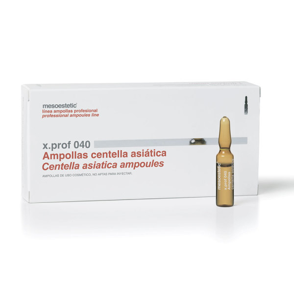 Мезотерапевтический препарат x.prof 040 Центеллы Азиатской для кожи лица и тела