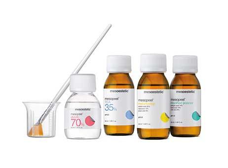 Химические пилинги для лица и тела