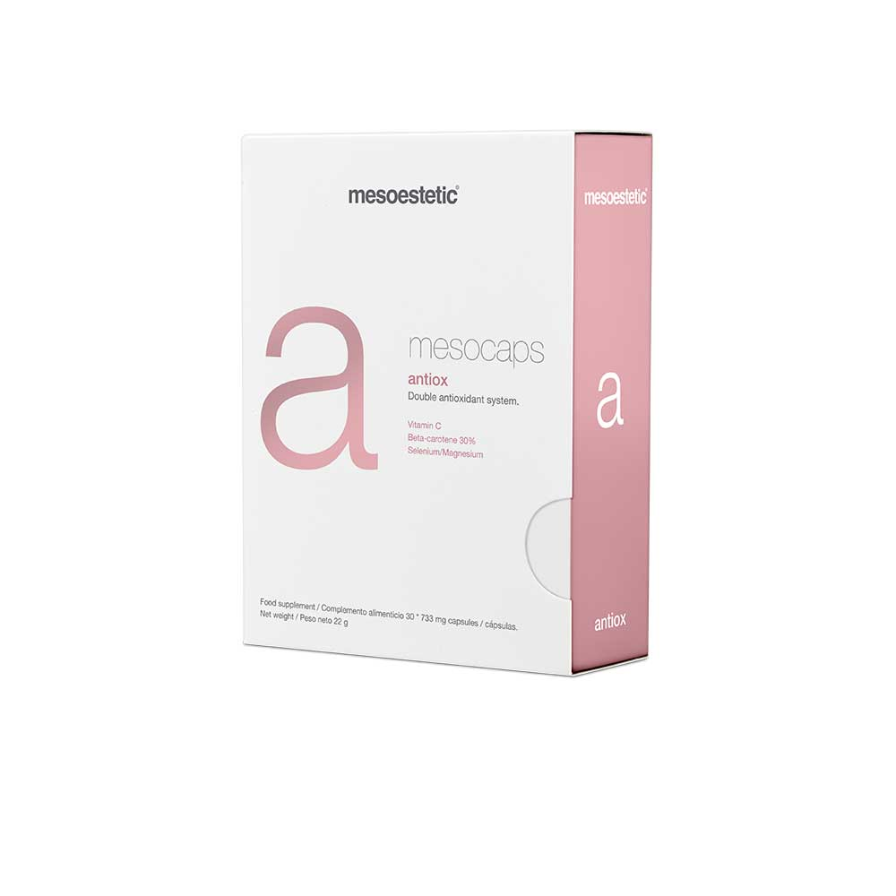 Antiox - Антиоксидантная защита - Нутрицевтик mesocaps от Mesoestetic