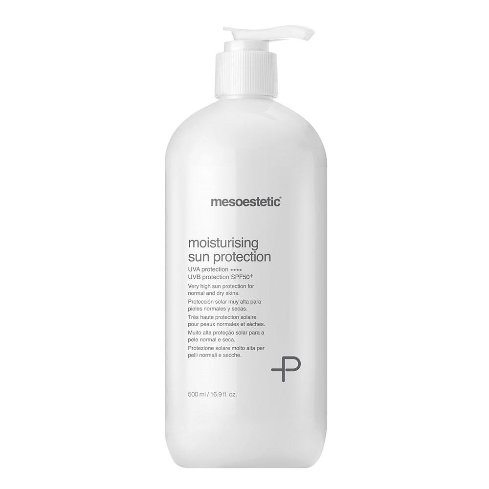 Увлажняющий солнцезащитный крем для сухой и нормальной кожи с SPF 50+